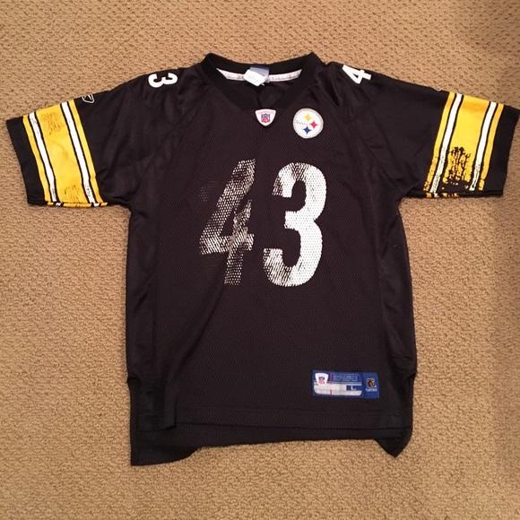 reputable site 02582 ae276 Troy Polamalu Pittsburgh Steelers Jersey
